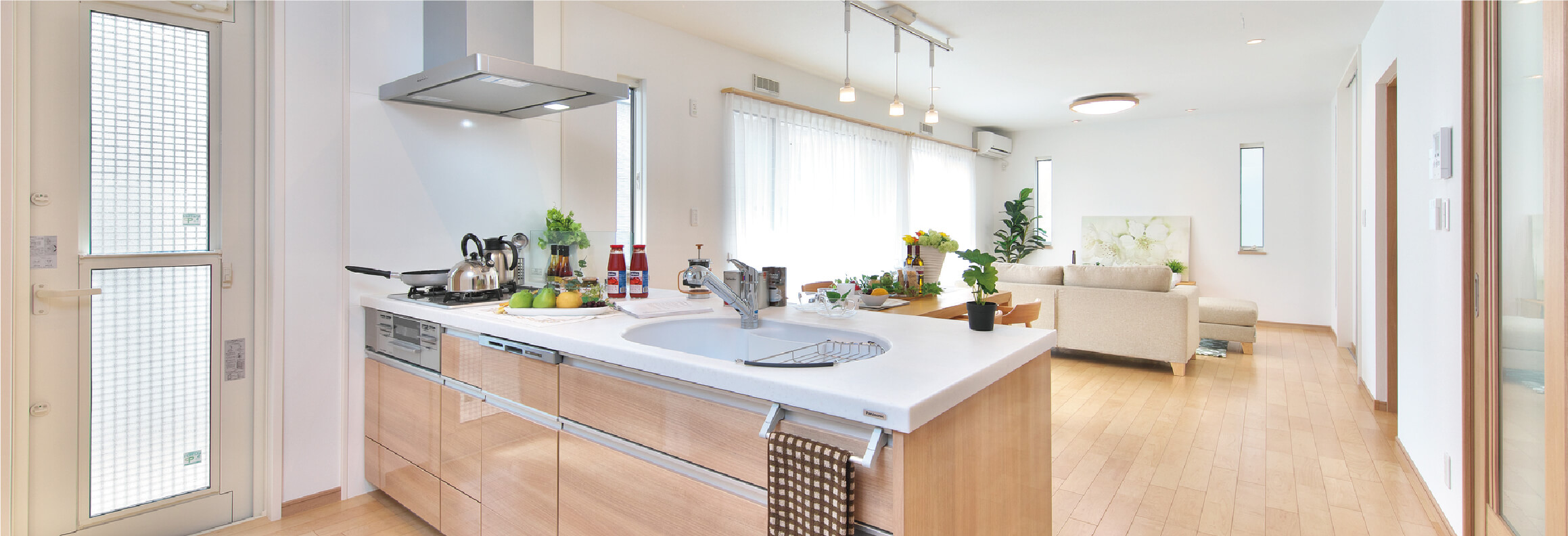 もっと便利でスタイリッシュに!最新の設備とデザインで快適空間を。