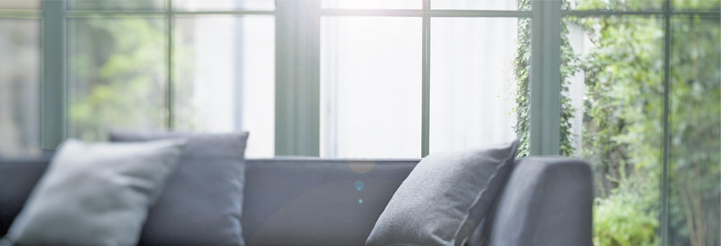 窓ガラスにプラスしてもっと安心、安全、快適空間を。